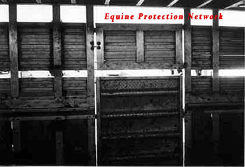 The above photos shows the door located on the left side of the double deck trailer. New York Agricultural and Markets Law, Section 359-a states,