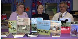 The EPN donates 15 books to the Pine Grove Area School District.